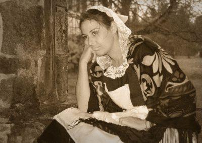 A Fond de Culotte Portrait