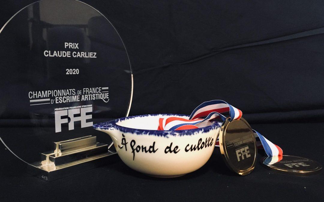 Moisson de récompenses pour A Fond De Culotte aux Championnats de France d'Escrime Artistique!